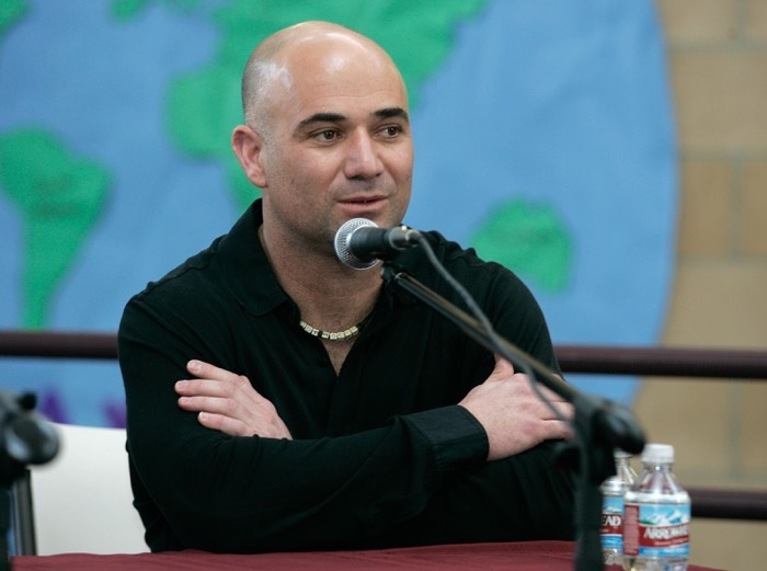 Tennis legend Andre Agassi spent his 21-year career schooling opponents on the court.