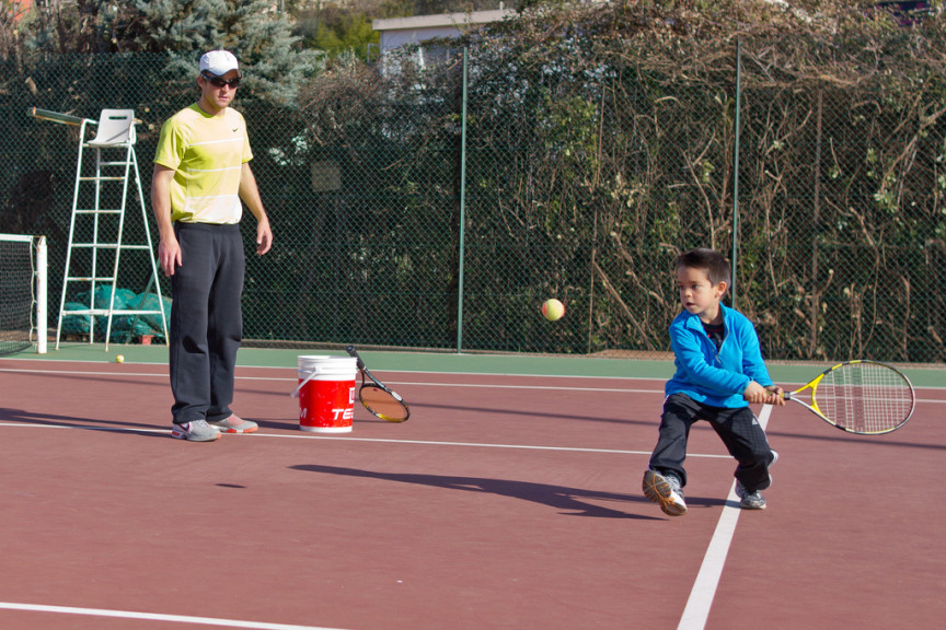 Five Rules for Developing a Tennis Player Under 12 years